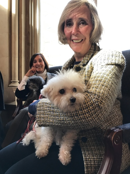NYTA's Margaret & Murphy the Maltipoo