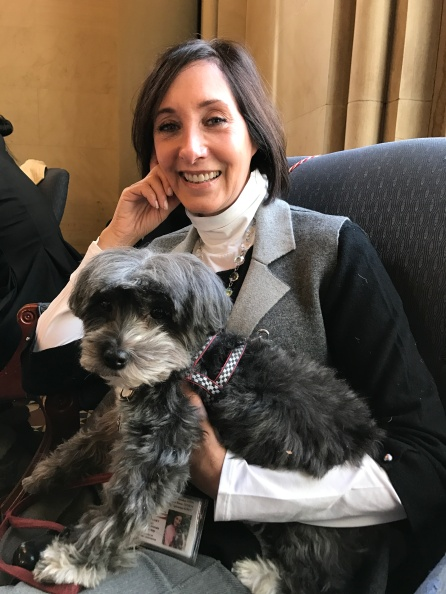 NYTA's Leslie Hight & Izzy the Havanese