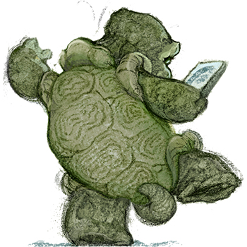 Take Your Time When Reading Like This Turtle!