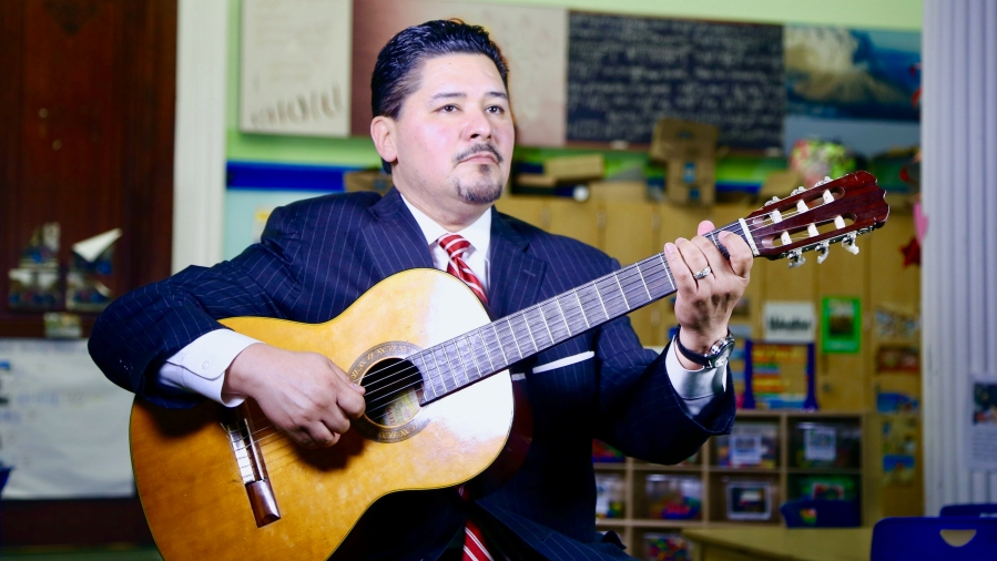 In Addition to Being an Educator, Carranza is Also an Accomplished Musician
