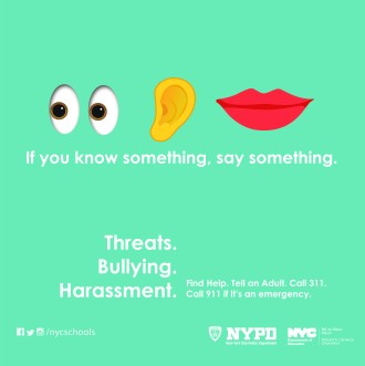 Discovered a Threat? Tell Someone Today!