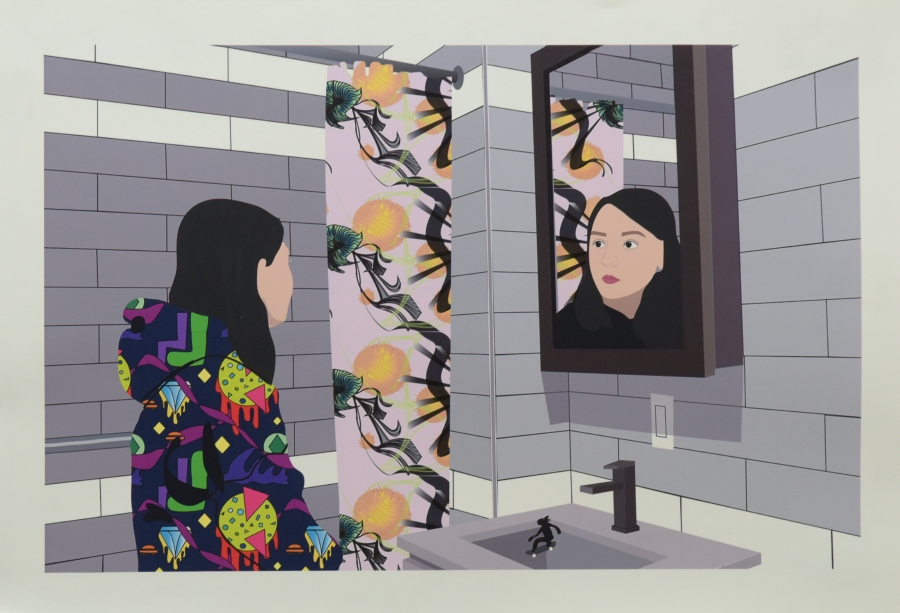 """""""Reflection"""" by Sarah Wong is on Display at the Met's P.S. Art 2018 Exhibition"""