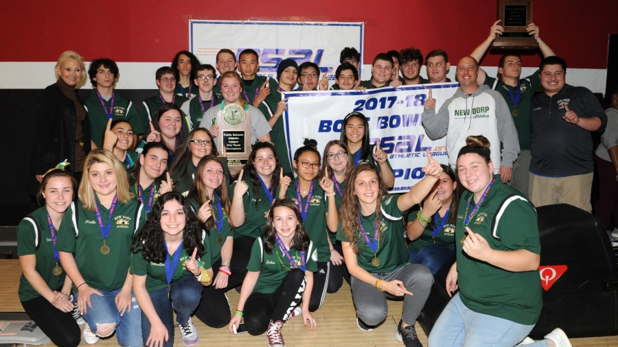 New Dorp H.S. Captured Both the Boys and Girls Bowling Championships During the 2017–18 School Year