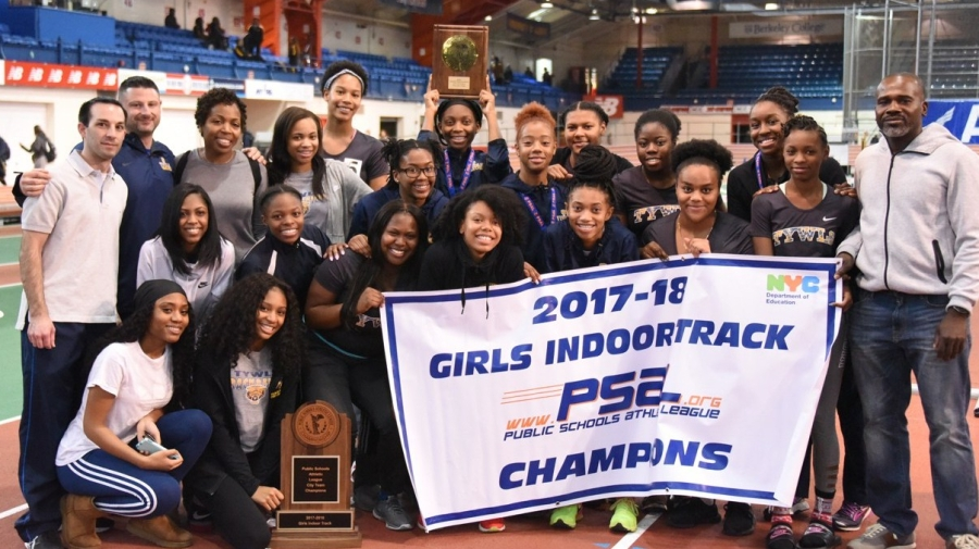 Young Women's Leadership Academy Won the 2017–18 PSAL Girls Indoor Track Championship