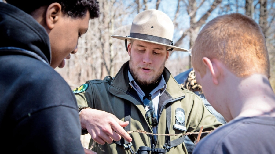 Urban Park Rangers Help New Yorkers of All Ages to Discover the Great Outdoors