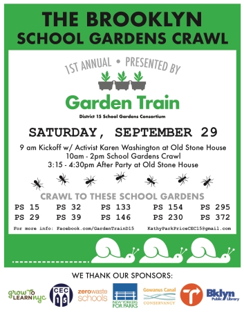 BK School Gardens Crawl Poster